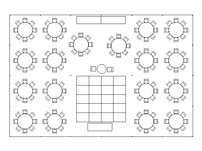 seating for over 125 guests - 2 buffet lines on dance floor | tent