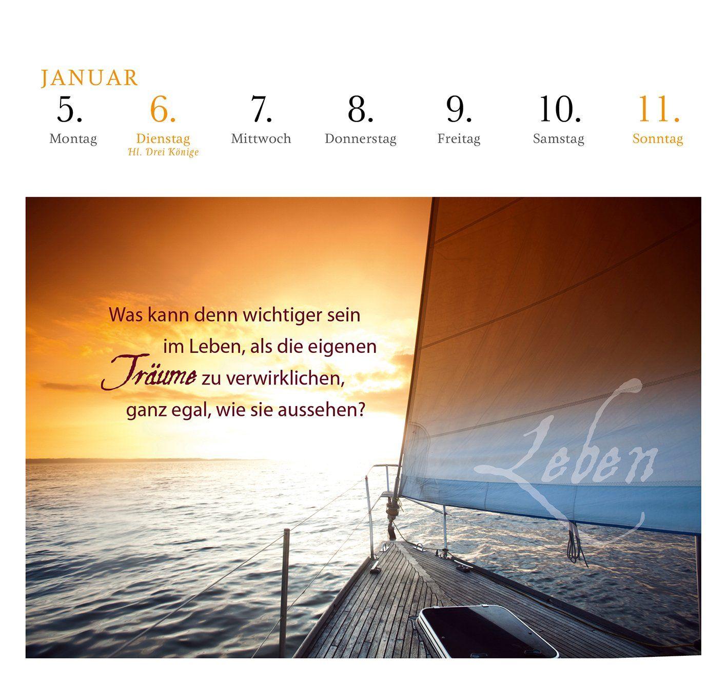 Höre Nie Auf Zu Träumen 2015 Postkartenkalender Amazonde
