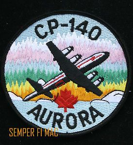 CP-140 AURORA PATCH ROYAL CANADIAN AIR FORCE LOCKHEED MARTIN ORION HERCULES RCAF