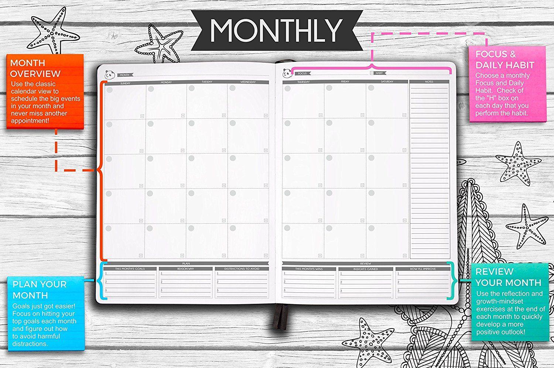 91hcvakjawl Sl1500 Jpg 1500 997 Panda Planner Weekly Planner Yearly Planner