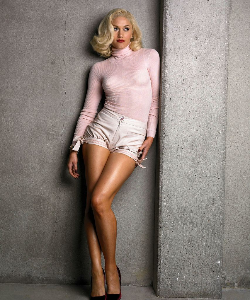 9d4a05f7c5b Gwen Stefani model positioning
