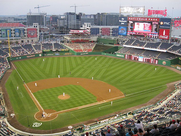 Washington Nationals Field Pictures And Images Nationals Park Washington Nationals Washington Nationals Stadium