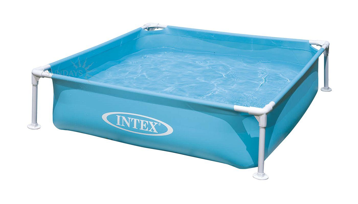 Pools intex 57173np intex 57173np aufstellpool rahmen for Aufstellpool stahl