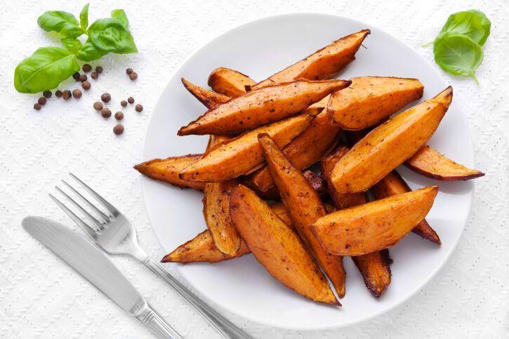 Receta de patatas al horno con curry