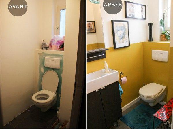 Avant après : julie sublime ses toilettes toilet
