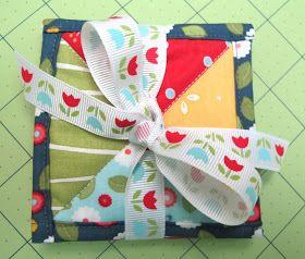 Bee In My Bonnet: Quilty Coasters Tutorial...