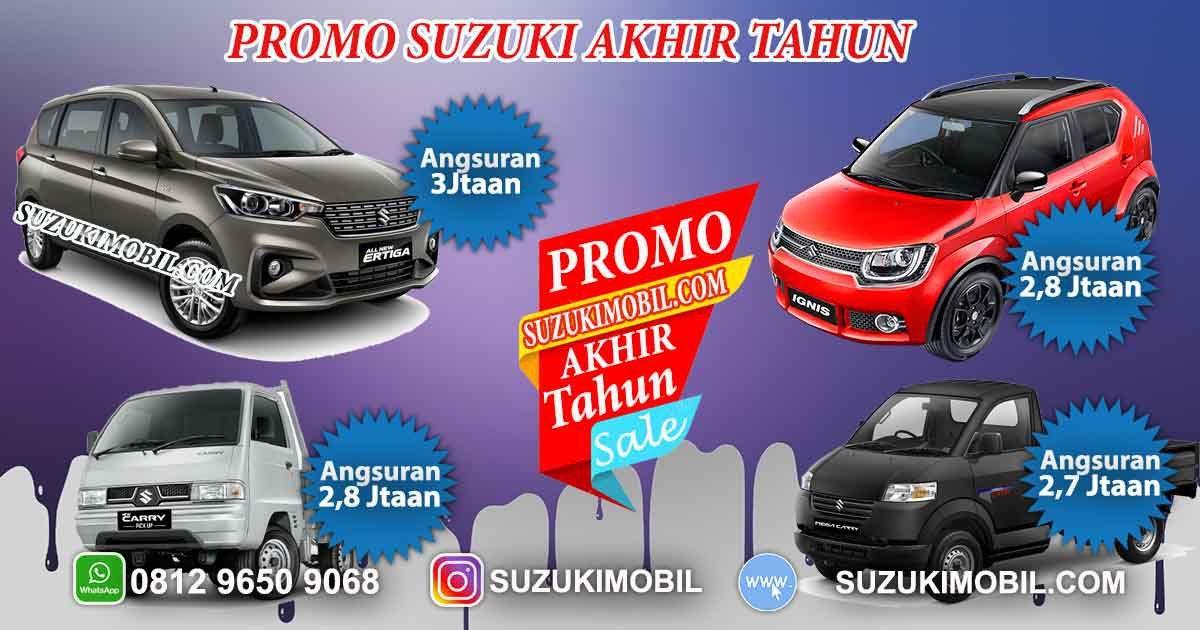 Promo Suzuki Akhir Tahun 2018 Dapatkan Harga Promo Ertiga Suzuki