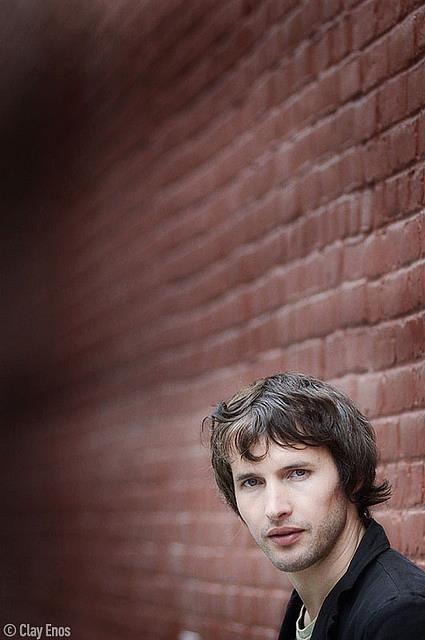 James Blunt. Fotografía de Clay Enos.