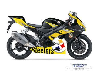 Steelers Motorcycle | It's a Steeler Nation! | Suzuki bikes