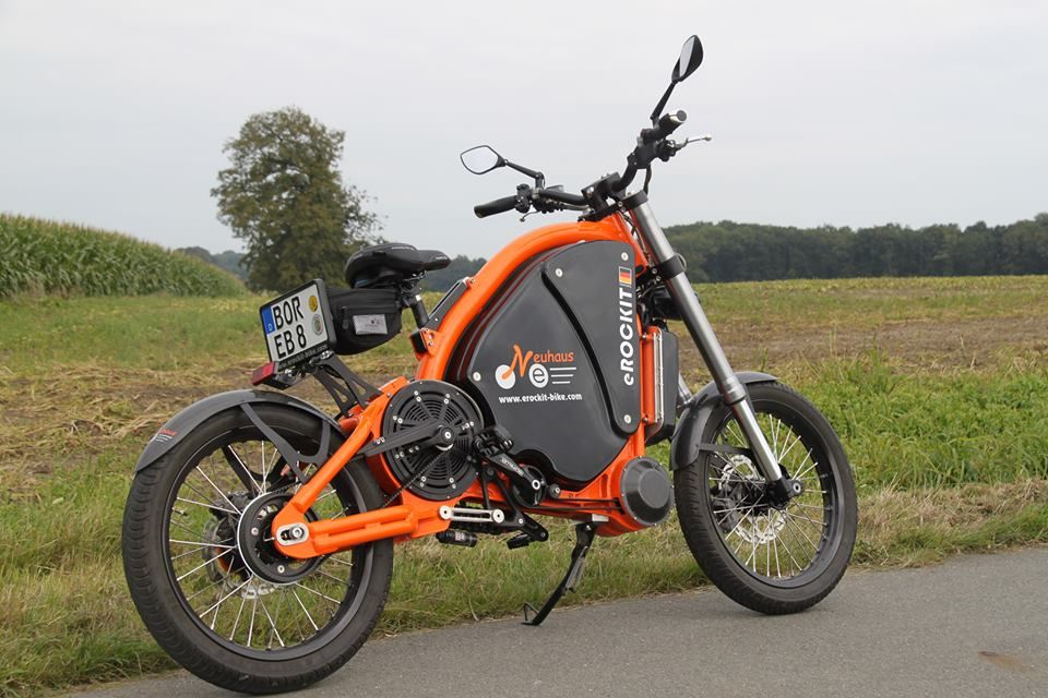 Erockit Electric Bicycle Moped Motorcycle Bicycle Cool Bikes