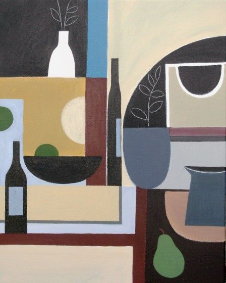 Abstract Still Life 1 by Jan Rippingham