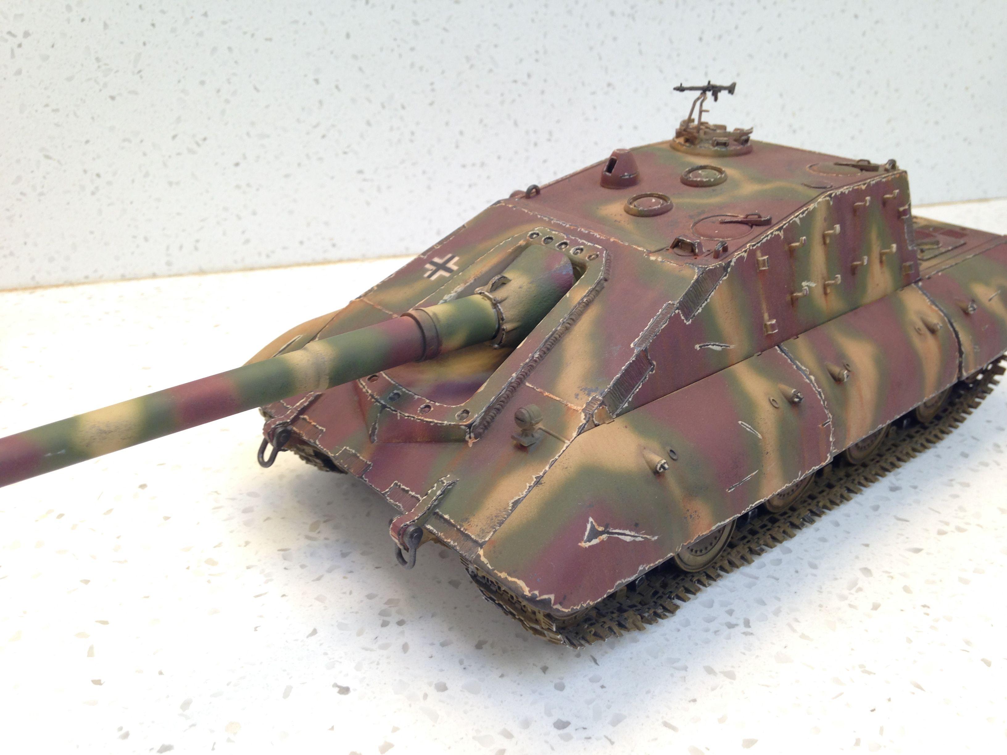 ea7da6392 For Sell now: 1/35 Jagdpanzer E100 Tier 10 Heavy Tank destroyer | WW ...