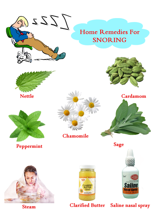 tips to stop snoring naturally