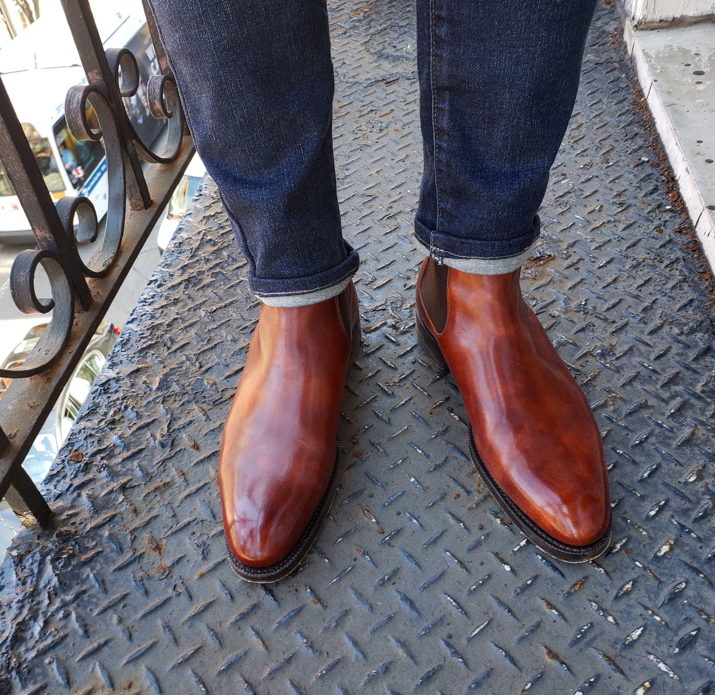 J Fitzpatrick Footwear Alki Chelsea Boot Chelsea Boots Mens Designer Shoes Boots [ 2914 x 3000 Pixel ]