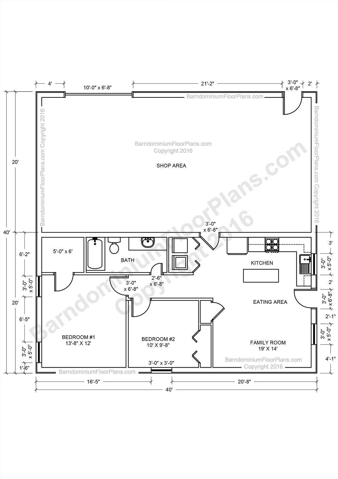 Pole House Plans Free 2021 Metal House Plans Barndominium Floor Plans Metal Shop Houses