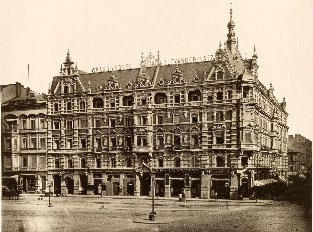 The Grand Hotel Alexanderplatz Berlin Vintage Architecture Historical Architecture Architecture Old