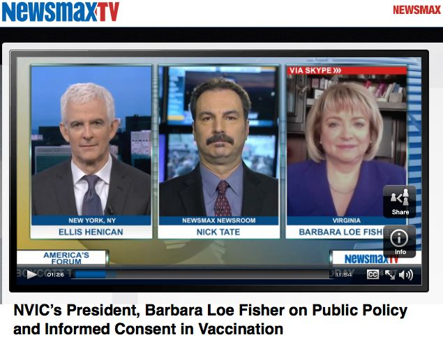 With the recent measles outbreak, America's Forum host and former U.S. Rep. J.D. Hayworth interviews Barbara Loe Fisher on a parent's right to delay or decline one or more vaccines.