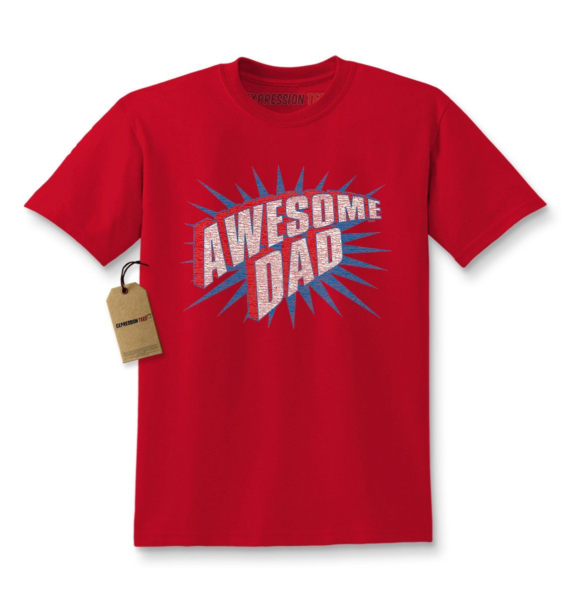 390130c5e6a6 Awesome Dad Kids T-shirt | Father's Day Ideas | Shirts, Trump kids ...