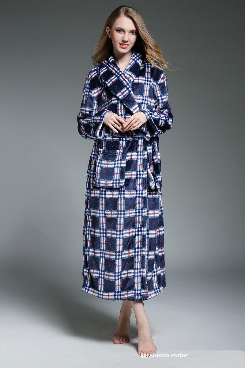 a2b3db3dad 2017 flannel Onesie bathrobe thick toweled robe winter autumn kugurumi  pyjamas classic gown terry bathrobe female