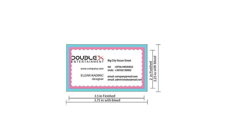 Visitenkarte Dimensionen Pixel 300 Dpi In Verbindung Mit