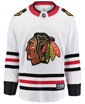 NIKE MEN S CHICAGO BLACKHAWKS BREAKAWAY JERSEY.  nike  cloth ... f302a8f44