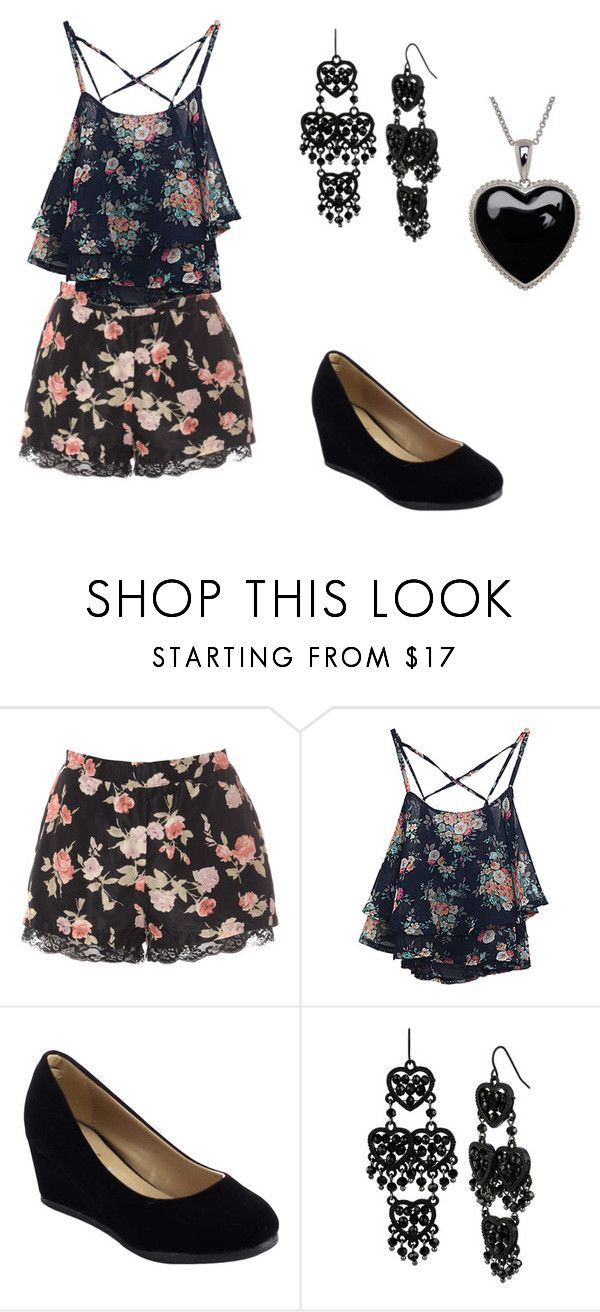 """""""Outfit"""" by jordanbond55 ❤ liked on Polyvore featuring beauty, Glamorous, Betsey Johnson and Lord & Taylor"""