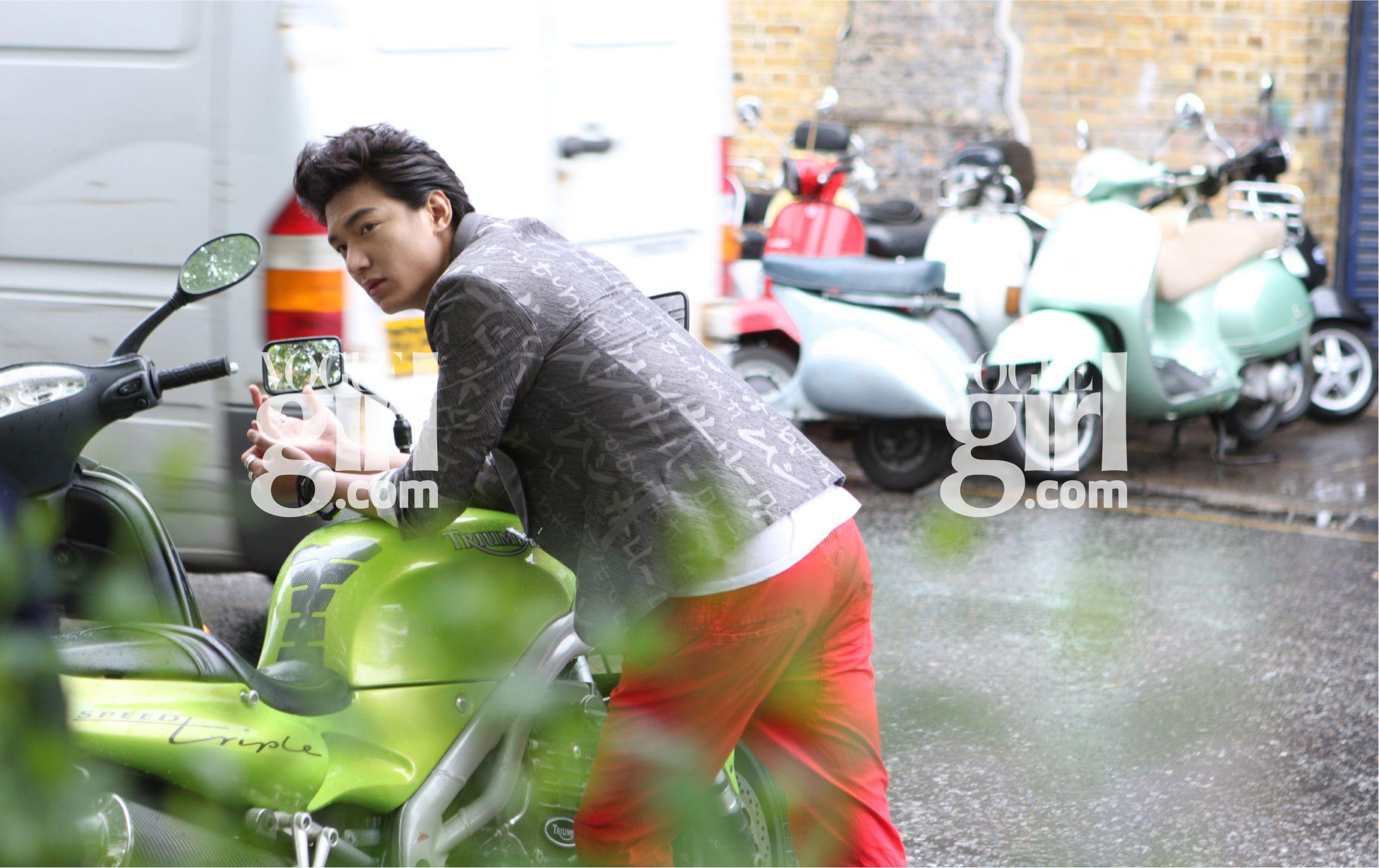 Lee min Ho on Vogue Girl.com 2009