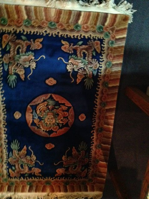 4x6 Chinese Dragon Oriental Rug 80 S Area Rugs