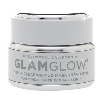 """Best Face Mask - Glam Glow Super-Mud Clearing Treatment. """"The gratification of seeing this product work before your very eyes is intense (blackheads dot the surface of the mud as it dries), and the results are just as amazing, leaving you with a clear and polished complexion."""""""
