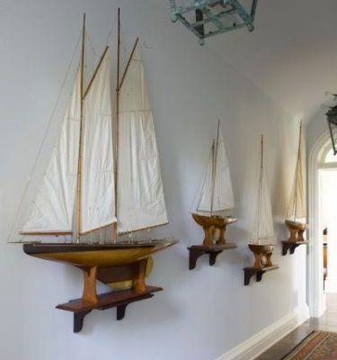 Photo of Nautical Decorating Ideas for Model Sailboat Yachts
