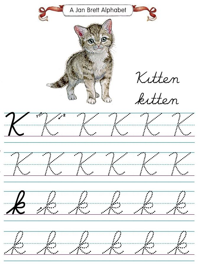 Jan Brett's Cursive Tracers K | Cursive, Flashcards, Tracer