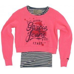 Garcia - Trui Felicity electric pink