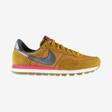 huge selection of a59bf c99b6 Nike Air Pegasus 83 Women's Shoe Mustard Pink and Steel Blue - Great color  combo!