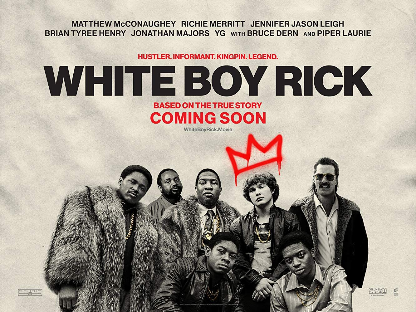 White Boy Rick (2018) HD Монгол хэл | White boys, Piper laurie ...
