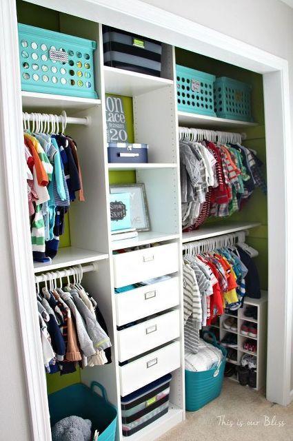 Diy Nursery Closet Details Bedroom Ideas Home Improvement Organizing Storage