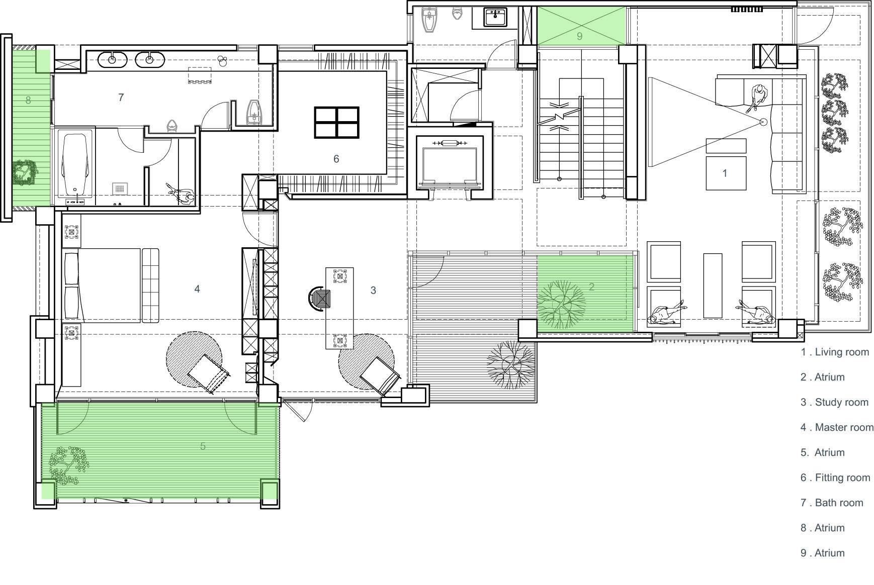 画廊 - 垂直森林 / 水相設計 - 31