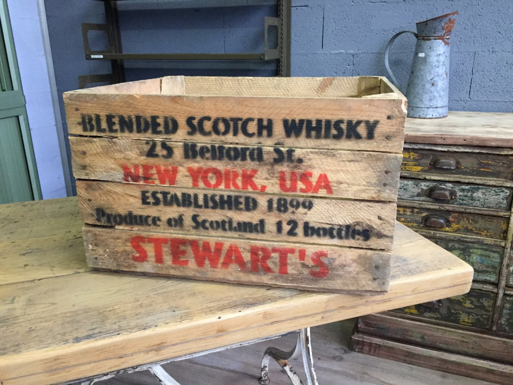Photo of Vintage Wooden Crates, 1980s, Set of 12