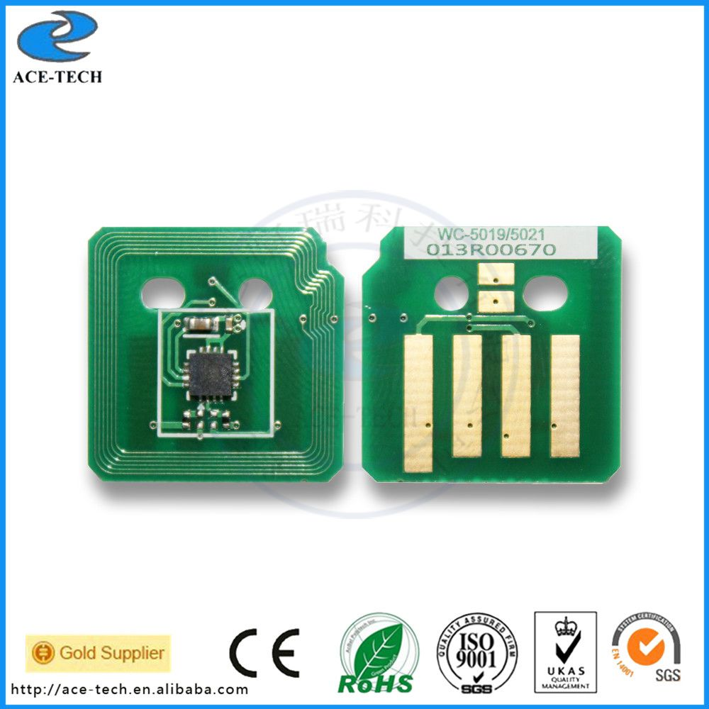 Free Shipping Toner Chip For Xerox Workcentre 5019 5021 Printer
