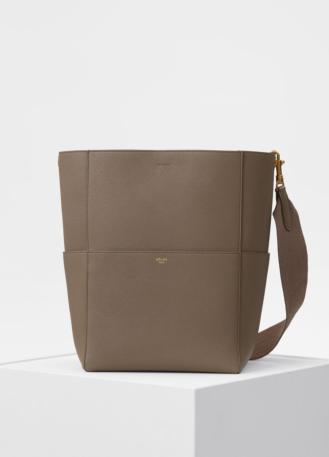 71a34de733 Seau Sangle Bag in Soft Grained Calfskin - Fall   Winter Collection 2017