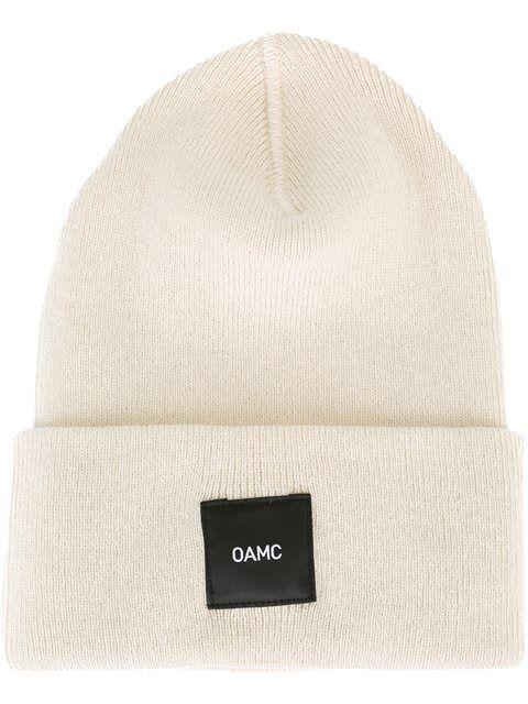 logo patch beanie - Grey OAMC NhpeniX