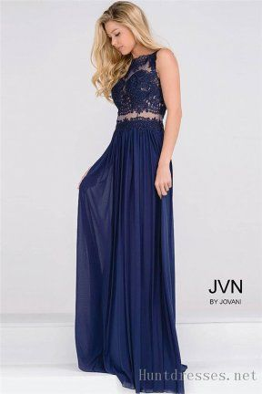 Navy Prom Gowns