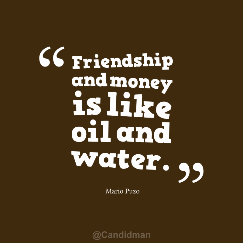 Awesome Money And Friendship Quotes   Yahoo Image Search Results