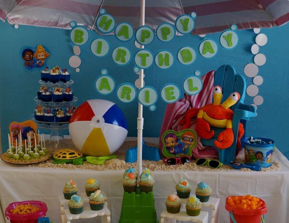 Bubble Guppies Beach Day / Birthday \