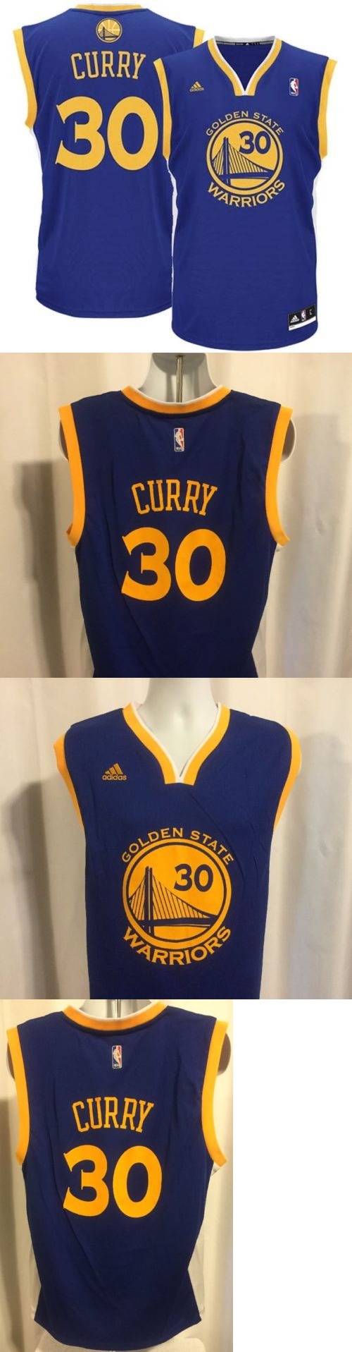 b60ae29c Men 158965: Golden State Warriors Stephen Curry Jersey Nwt Mens L Royal  Blue Adidas Replica
