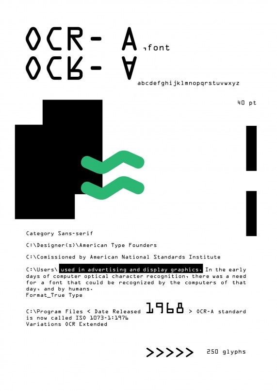 Typographic poster, Joana Brito, 2012/13, University of Fine Arts in Cracow, Poland.