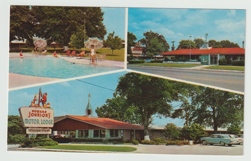 Unused Postcard Howard Johnsons Motor Lodge Us 301 Allendale South Carolina Sc Allendale Postcard South Carolina