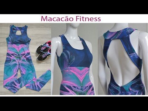 ❁ macacão fitness aula 9 ❁