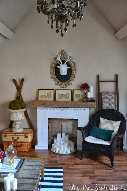 the poor sophisticate Our Re-designed Living Room Home - Living