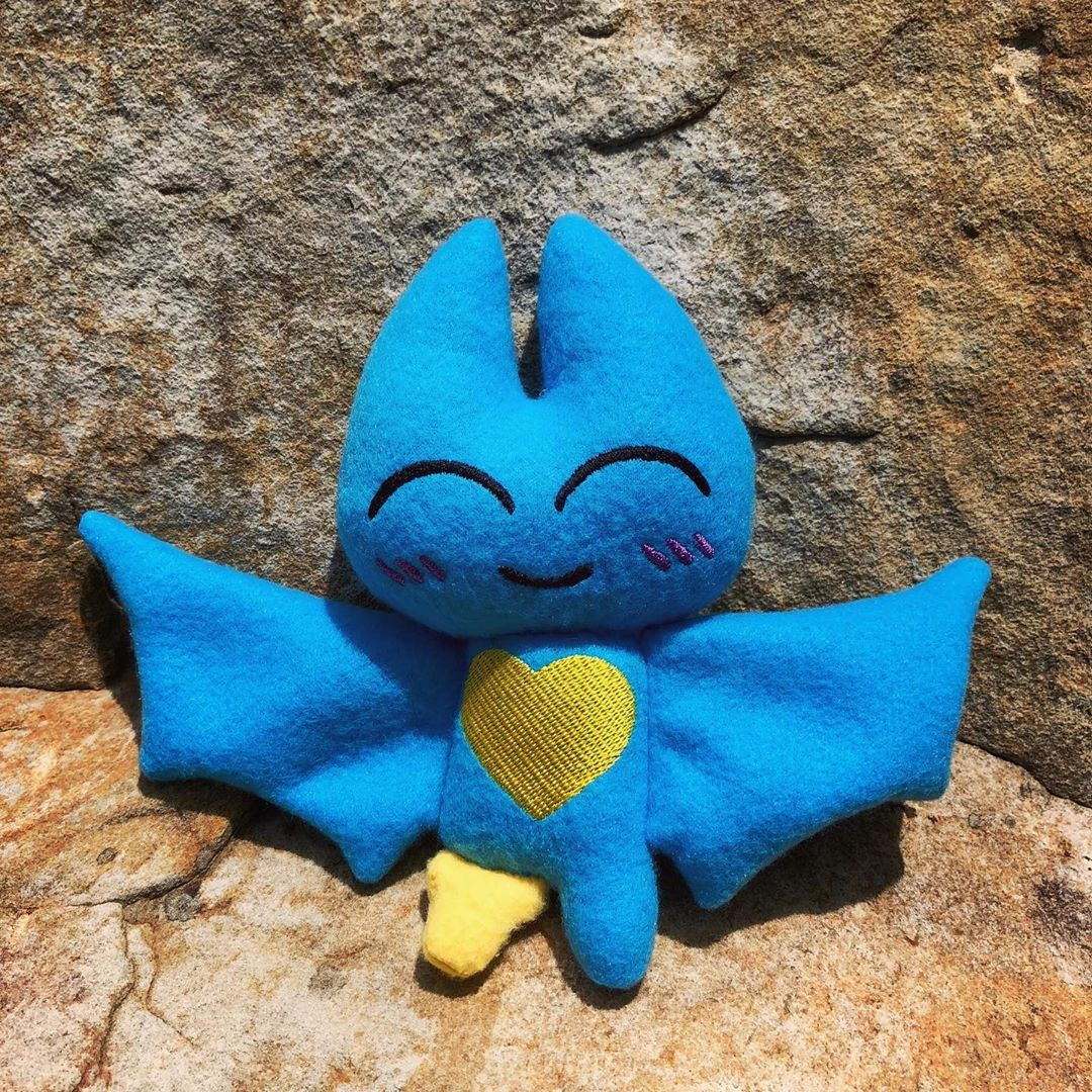 Custom Plush I Made Of Adorabat From Mao Mao Heroes Of Pure Heart I Wanted To Yes, i know adorabat is a gurl, all i did was give her a tomboyish look. pinterest