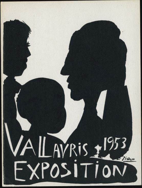 1953 Vallauris POTTERY Expo - Original PICASSO Postcard | eBay
